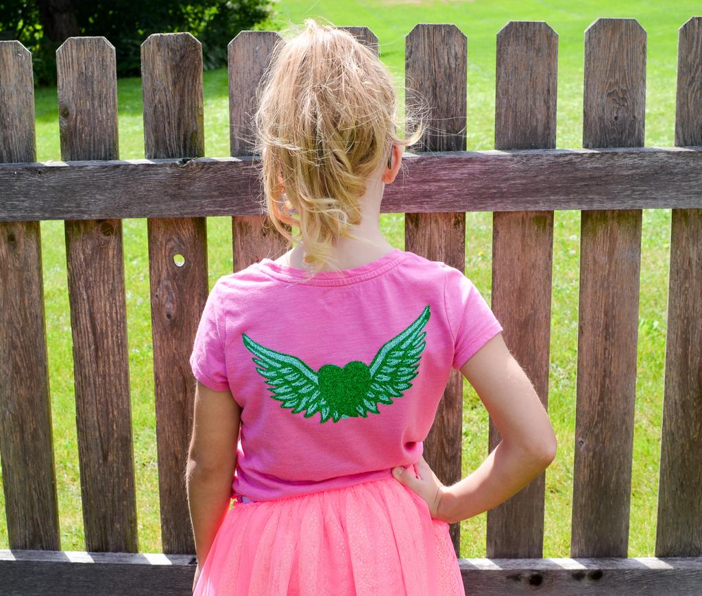 Vinyl Fairy Wings Shirt
