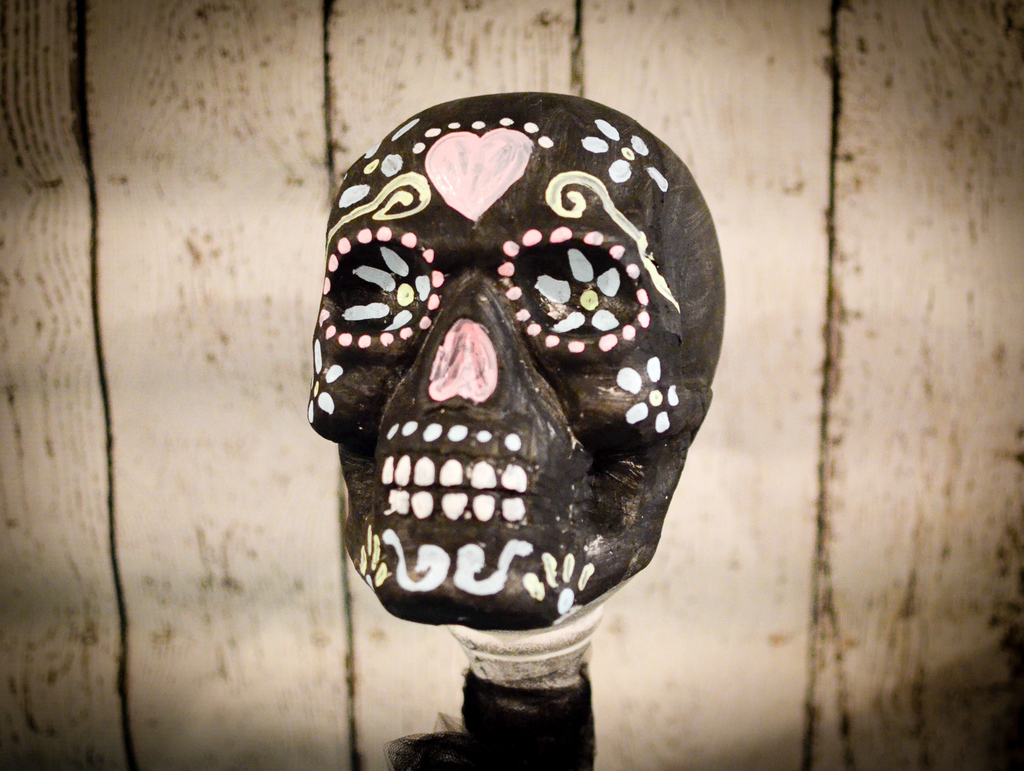 Day of the Dead Styrofoam Sugar Skull