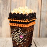 Yarn Wrapped Popcorn Box
