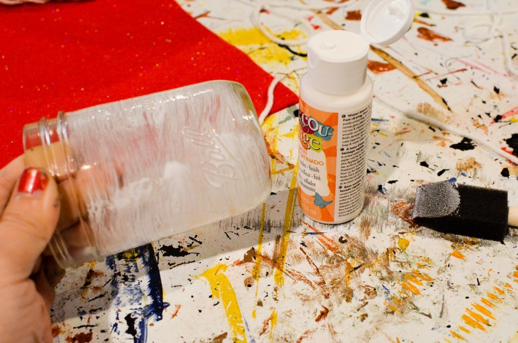 paint with decoupage