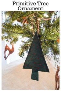 Primitive Tree Ornament