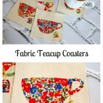 Fabric Teacup Coasters