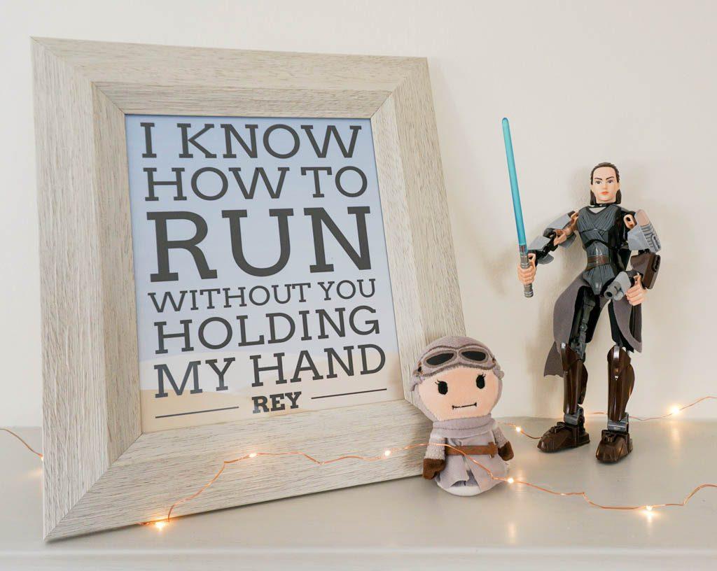 Free Star Wars Rey Quote Printable