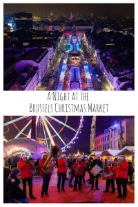 A Night at the Brussels Christmas Market