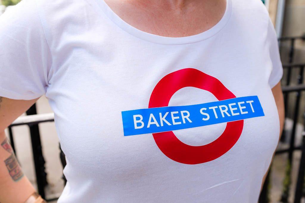 London Underground Baker Street Shirt
