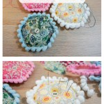 Puffy Hexagon Pincushions