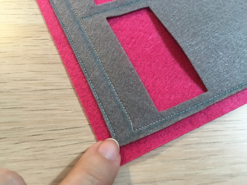 Felt Pocket Wall Organizer