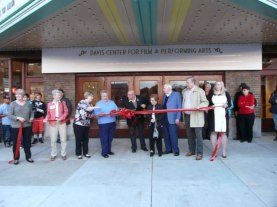 Bohm Theatre Ribbon Cutting