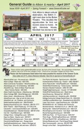 April General Guide is now available at most of the locations listed.
