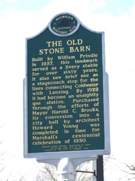 Forty historical markers in Marshall