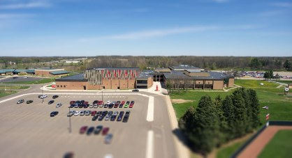 Marshall High School Michigan, where 206 students from Albion currently attend school. Nearby is Walters Elementary School, one of three elementary schools in Marshall. There are 47 elementary students from Albion that currently attend Marshall schools from School of Choice.