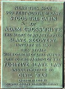 Adam Crosswhite Marker Marshall Michigan