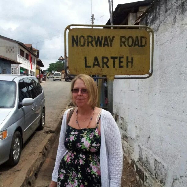 Larteh, another important place on my map