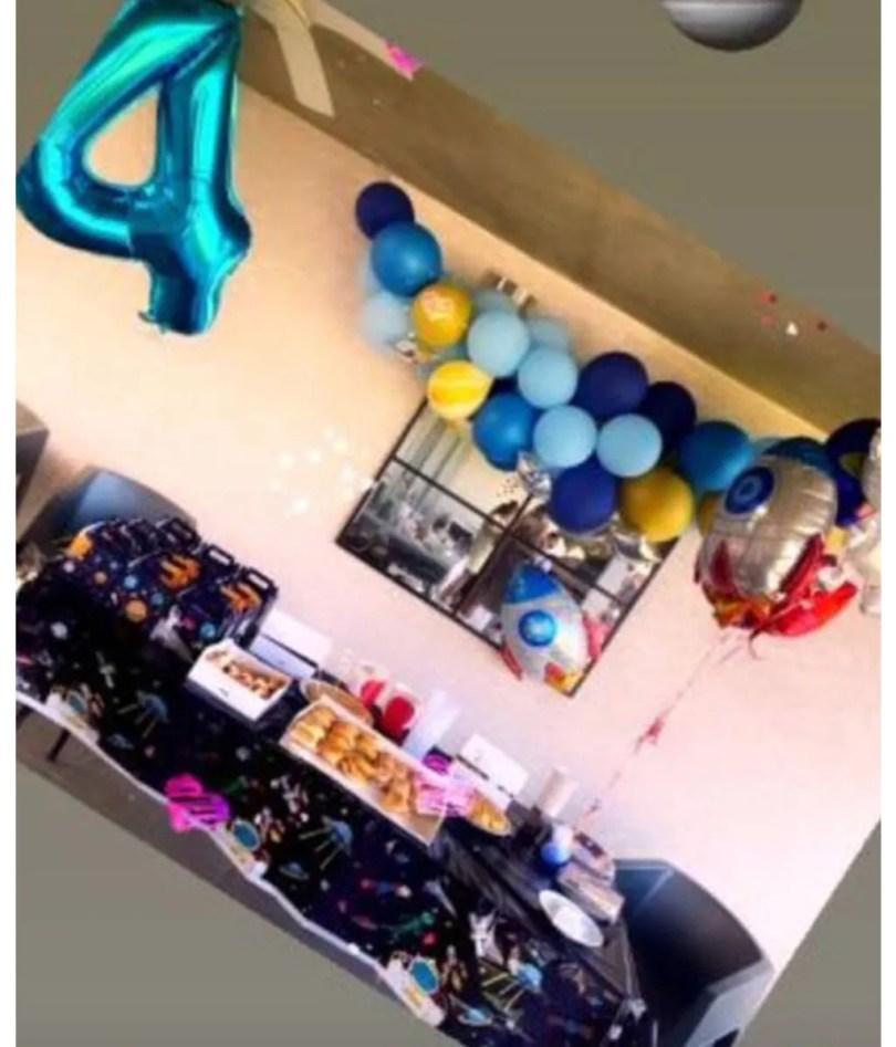 Chloe's 4th birthday party, Almudena Navalón and Manu Carrasco's daughter