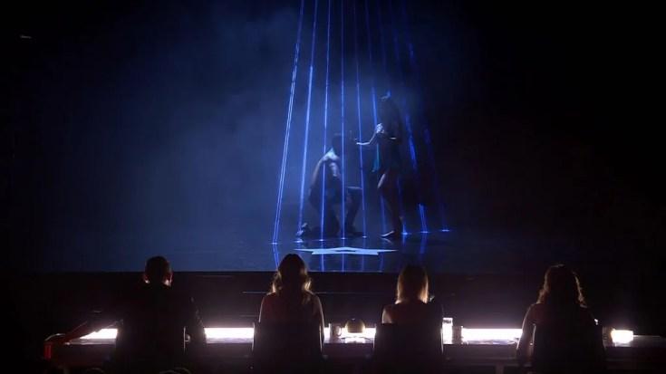 La energía de 'Deivas', el baile de gimnasia rítmica de Salma y el espectáculo de luces de Iván y Genny se lleva los síes del jurado