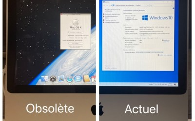Windows 10 sur Mac obsolète
