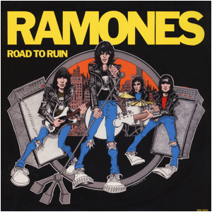 Visual Album Review: Ramones – Road to Ruin