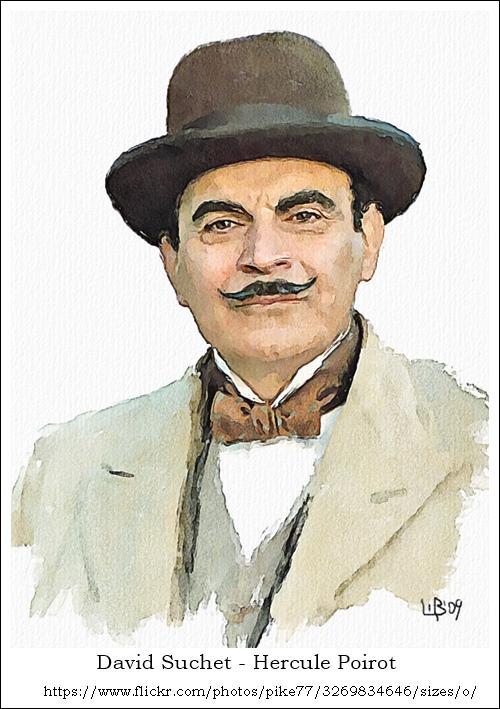 Hercule Poirot – David Suchet