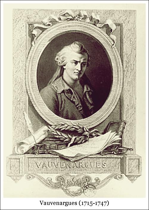 Vauvenargues (1715-1747)