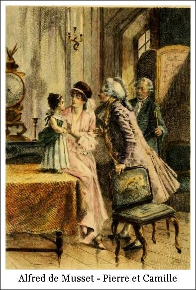 Alfred de Musset – Pierre et Camille