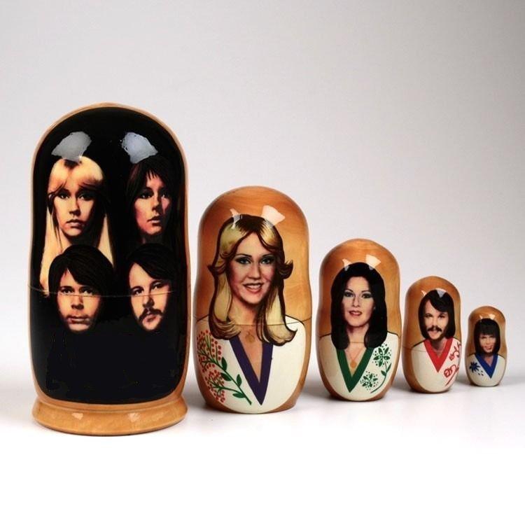 ABBA Russian Dolls