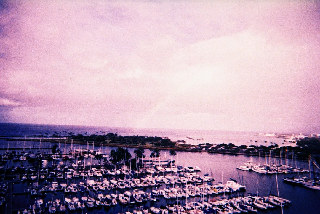 Sittin' on the dock of the bay - Lomography Slide 200 XPRO shot at EI 200. Color reversal (slide) film in 35mm format. XPRO.