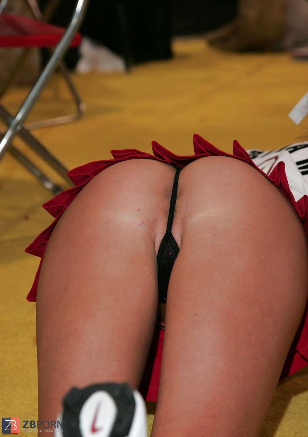 Think, that Upskirt cheerleader flashes for that