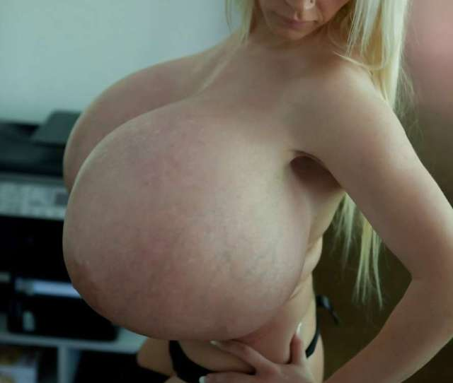 Beshine And Her Ginormous Fake Baps