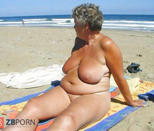 Nude Grannies On Beach