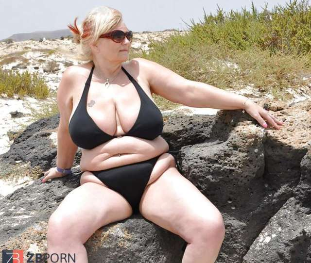 Mature And Grannies Clad Bikinis And Undergarments