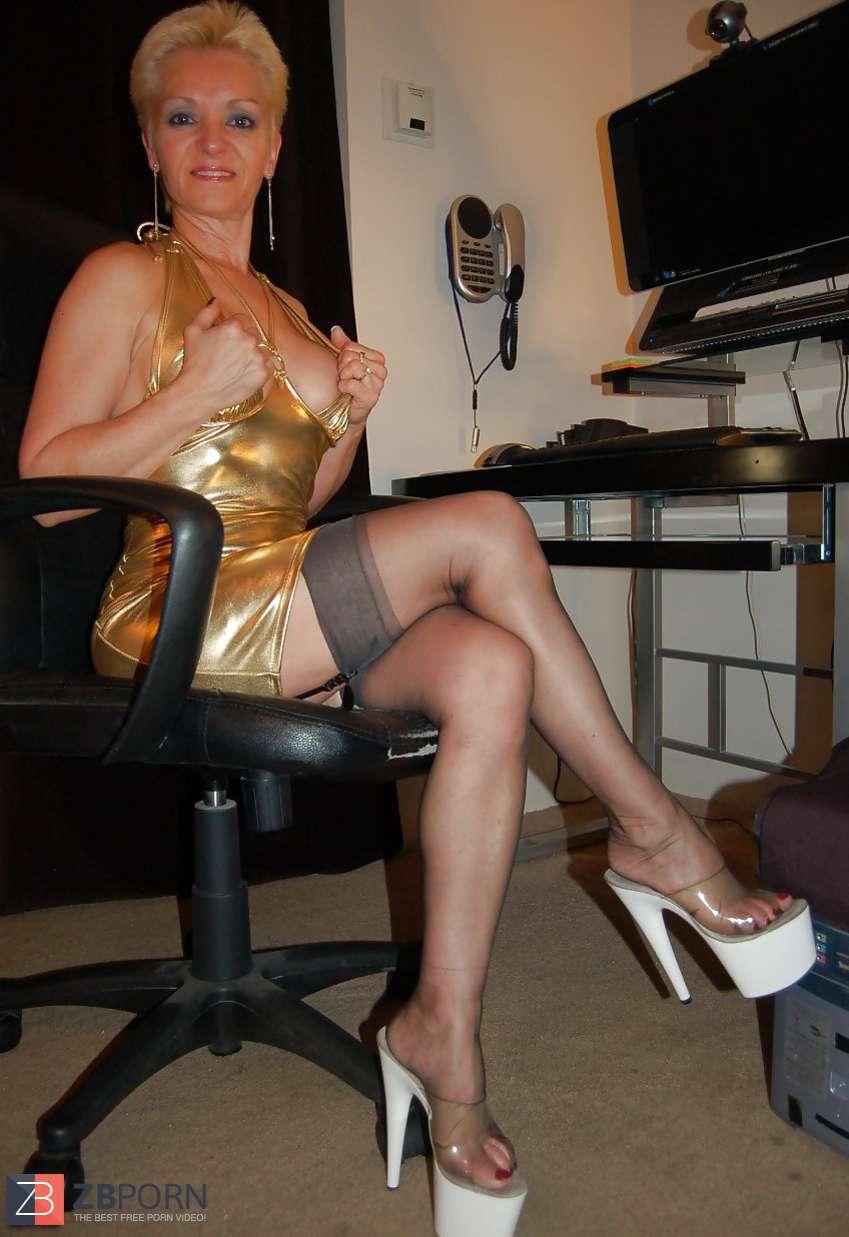 Russian Mature Nylon - Pantyhose Tights Porn