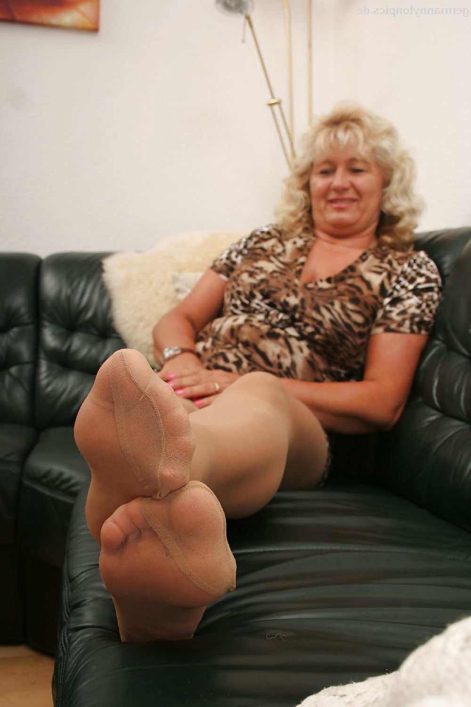 Pantyhose granny Women in