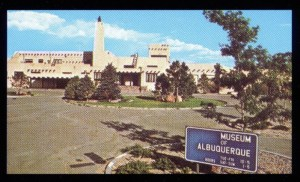 Photo of old Albuquerque Airport