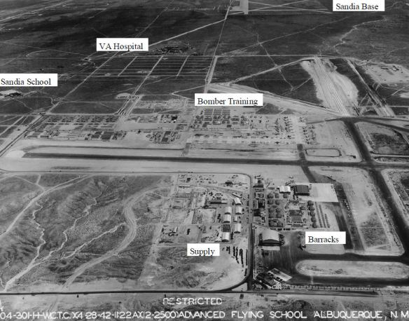 Aerial Photo of Kirtland Army Air Base