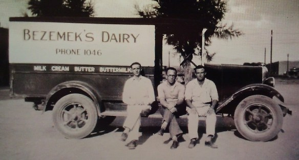 Bezemek Dairy Truck - Albuquerque Historical Society