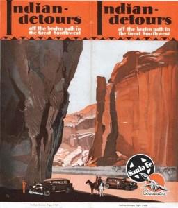 Old Indian Detours pamphlet