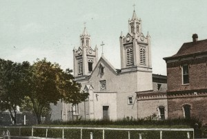 Postcard of San Felipe de Neri Church c 1889