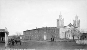 Old photo of San Felipe de Neri