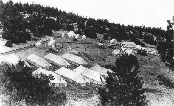 Picture of Sandia Park CCC Camp