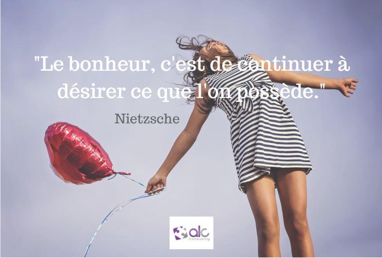 Citation Nietzsche Bonheur : Le mot du jour selon nietzsche alc consulting