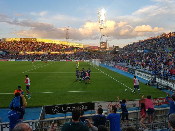 Imagen del Coliseum en un partido