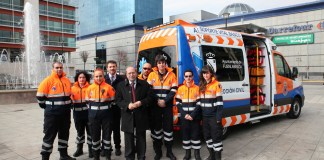 ambulancia proteccion civil fuenlabrada