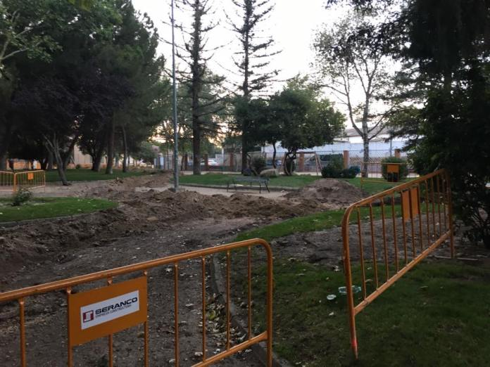 obras parques