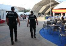 POLICIA EN FIESTAS