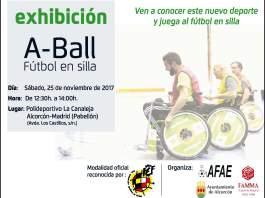 Cartel A-Ball Alcorcón