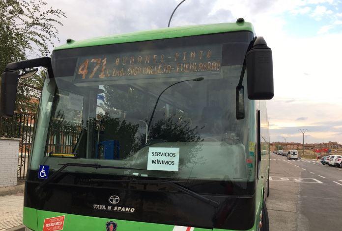 huelga autobuses
