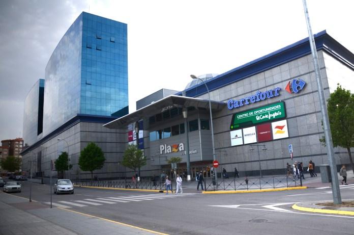 plaza de la estación fuenlabrada
