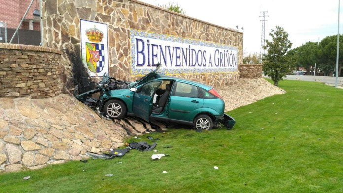 accidente grinon
