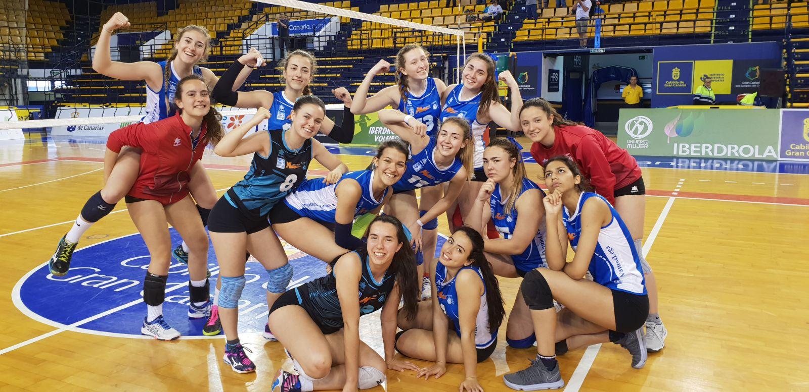 La cantera del Club Voleibol Leganés exhibe su poderío tanto a ...