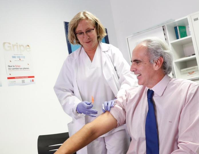 campaña gripe madrid